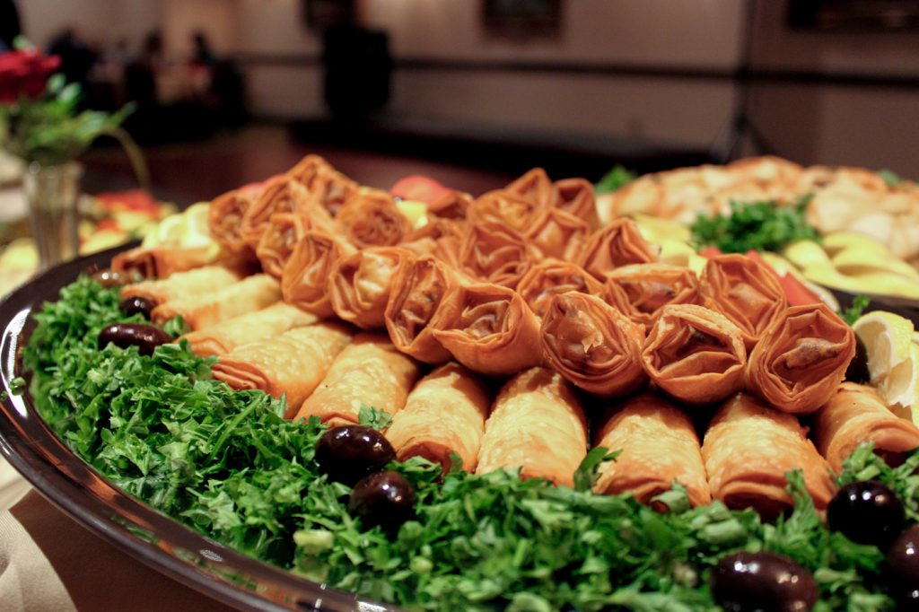 catering platter of rakakat